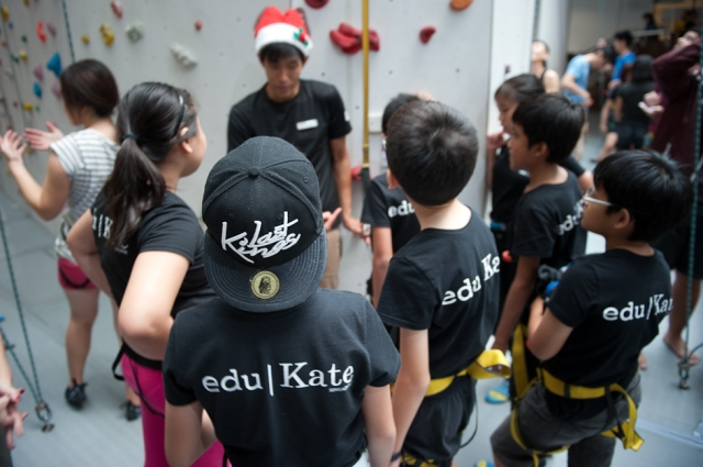 edukate at climb central