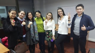 another successful session where Kazakhstan students learns about Singapore's education system