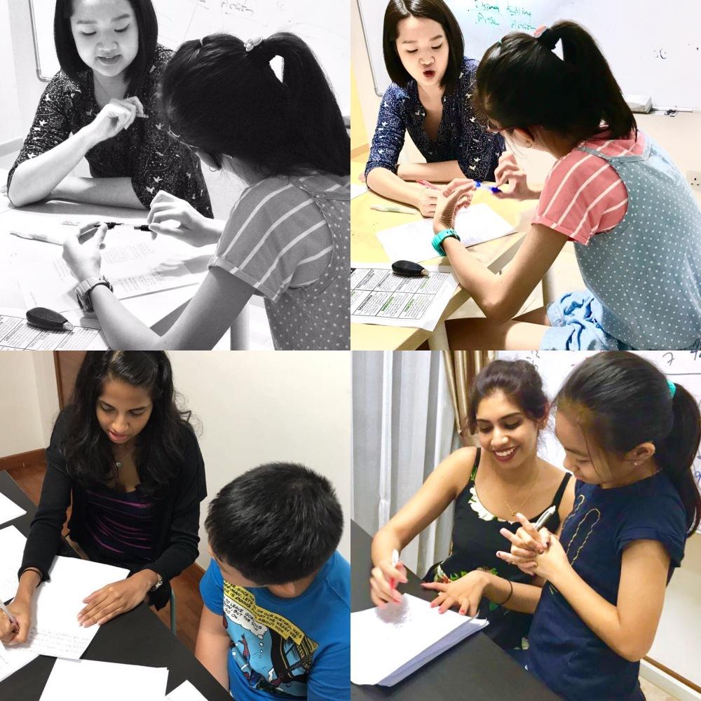 Singapore Creative Writing Pri 3 class small group class Primary English Tuition Centre