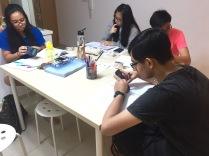 A Math GCE O level students.