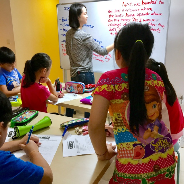 Singapore English Creative Writing Primary Pri 1,2,3,4,5,6 PSLE MOE Syllabus Small Group Tuition with qualified tutors