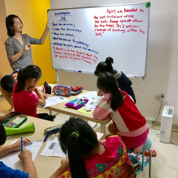 Creative Writing class are fully air-conditioned and filtered for health, safety and comfort. We teach throughout the year, rain, shine or haze.
