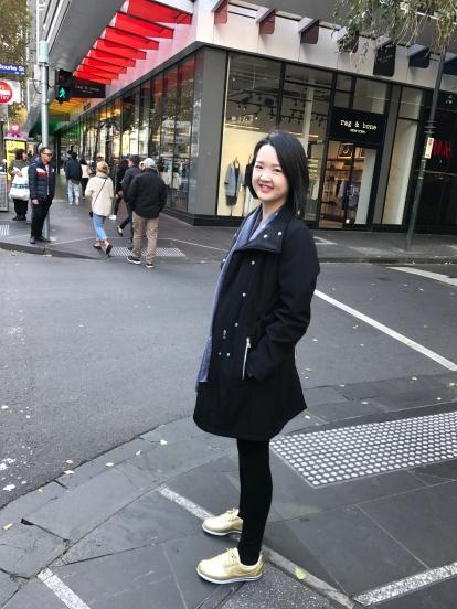 Shopping and walking around Melbourne CBD