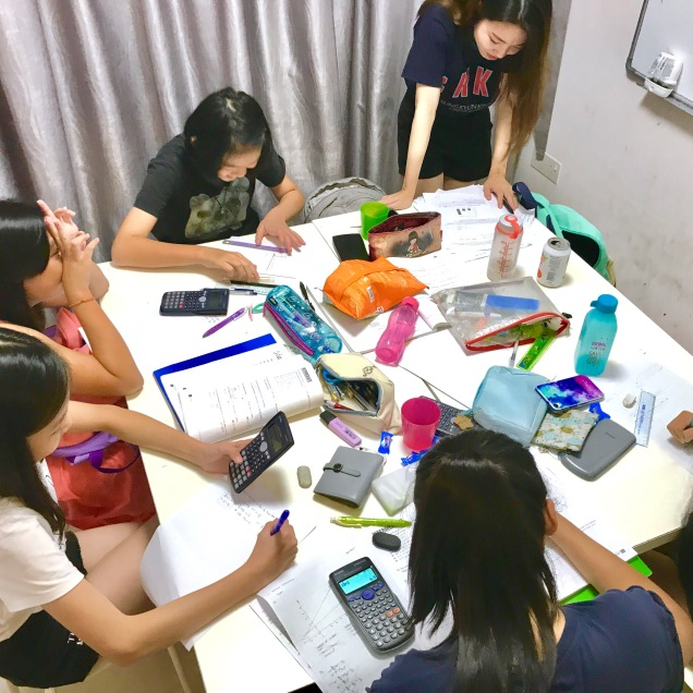 Sec 1 Math Tuition class has students doing graphs and completing it on time. Imperative to complete graphs fast, or students will not finish in time during examinations